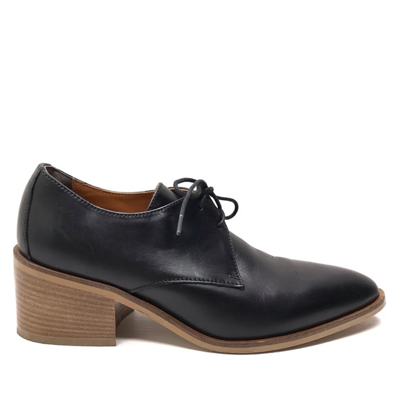 dbdd7160cdcb Everlane Shoes - EVERLANE Black Leather The Modern Oxford Loafers 7